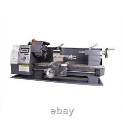 Automatic Mini Metal Variable-Speed DC Motor milling 750w Lathe 8x16