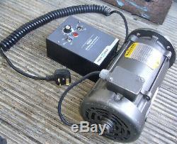 Baldor 1/3hp (0.25kw) DC Motor & KBMD-240D Variable Speed Drive (0-3000rpm)