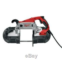 Band Saw Deep Cut Corded Electric 11 Amp Motor AC DC Variable Speed Portable LED