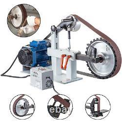 Belt Sander Grinder 3-in-1 2 x 82 Variable Speed 1.5 KW 2 HP Motor & VFD Combo