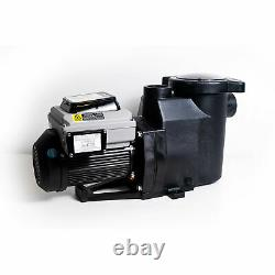 Blue Torrent Cyclone 3 HP Variable Speed Motor Pump for In Ground Swimming Pools