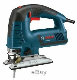 Bosch Top-Handle Jig Saw 7.2 Amp Motor Corded Variable Speed Assorted Blades Kit