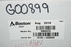 Boston Gear Rbd2s G00899 Variable Speed DC Motor Controller 2hp New