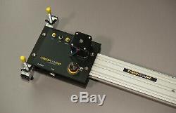 Camera slider Motorised, variable speed, programmable & TOTALLY quiet