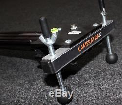 CameraTrax All-In-One variable speed motorised SLIDER HD Pan Movie + tilt head