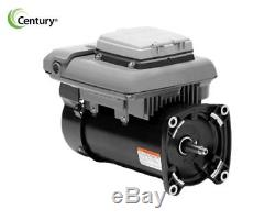 Century ECM270SQU V-Green Square Flange Variable Speed Pool and Spa Motor