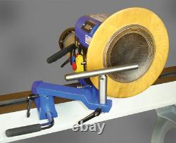 Charnwood 1624V Floor Standing Variable Speed Wood Lathe, 1500w (2hp) 3ph Motor