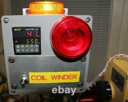 Coil Winding Machine Works With Wire Tensioner And Variable Speed Motor! Nice