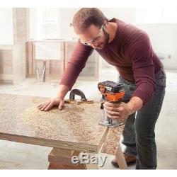 Compact Router Cordless Trim Brushless Motor 18 Volt Lithium ion Variable Speed