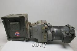 Comtrac TD27-0-F-K-56 51 Ratio 1/2Hp 208-230/460V Variable Speed Gear Motor