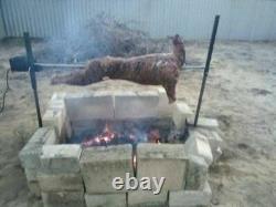DIY 30kg Heavy Duty Motor Spit Roaster Rotisserie Set Charcoal BBQ Grill