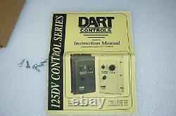 Dart Controls 125DV200EB Variable DC Motor Speed Control Drive 120/240 Vac