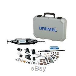 Dremel Rotary Tool Kit 1.6 Amp Motor 35000 RPM Corded Keyed Chuck Variable Speed
