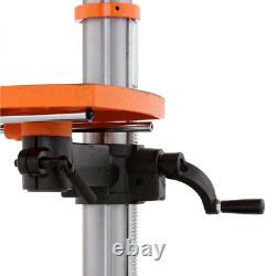 Drill Press 12 in. Variable Speed Worktable Bevel 45 Deg Left Right 2/3 HP Motor