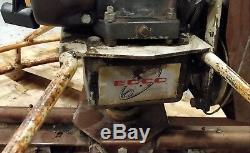 EDCO T-364 Walk Behind Variable Speed Gasoline Power Trowels 36 5HP Motor