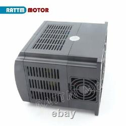 EU220V 2.2KW Inverter VFD Variable Frequency Drive 3HP Motor Speed Controller