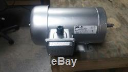 Electric Motor 220V 2hp 3 Phase Ph Vfd Variable Speed 1725rpm mill lathe