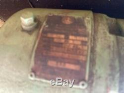 Electric motor reduction gearbox Variable Speed
