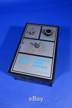 Ellis Variable Speed DC Motor Control Controller RG400A Minarik 180V DC 10A