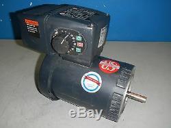 Ermerson Intellagear C-Face Variable Speed Motor 1/3HP 480V 3PH #U13T2BCR