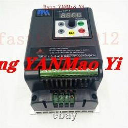 FedEx /DHL5.5kw 7.5HP 380V VFD 3 Phase Motor Speed Control 12.6A Variable Freque