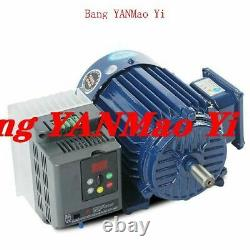 FedEx /DHL600-2800rpm AC220V 2.2KW Low rpm Motor Variable Speed AC Motor+ VFD In