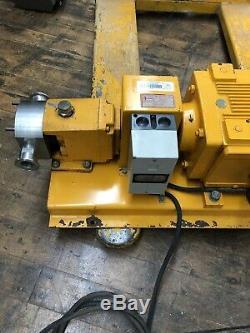 Flender Himmel Motorised Gearbox 3 Phase Unit Variable Speed Drive