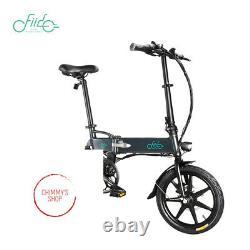 Folding Electric Bike, Variable speed version, Ebike 250W Motor 16In Fiido D2S