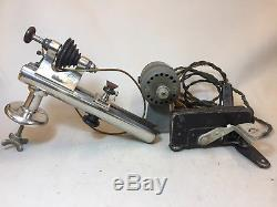 G. Boley Watchmaker Jewelers Lathe Watch-Craft Motor Reversible Variable Speed