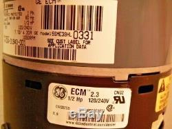 GE 5SME39HL0331 ECM 2.3 Variable Speed 1/2 HP Blower Motor 02431940022
