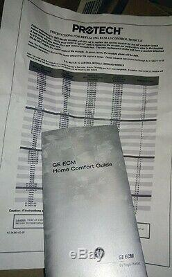 Ge Motor-variable Speed / Protech Airconditioning DIV Phase 1, RPM 1050, Ccw