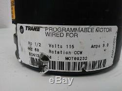 Ge Trane Variable Speed 2.3 Ecm 5sme39hl0252 D341314p04 Mot09232 (0342) B22cp