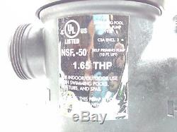 Hayward SP2603VSP Super Pump VS 1.65 HP Variable-Speed Pool Pump CENTURY MOTOR