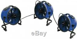 High Temperature 13 In. Variable Speed Sealed Motor Professional Industrial Fan