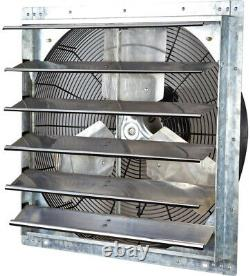 ILIVING Exhaust Fan Vent Venting 4200 CFM Power 24 Inch Variable Speed Shutter