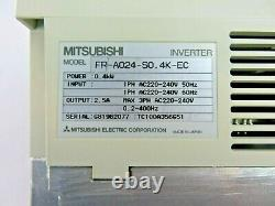 Industrial Panasonic Motor Conveyor with Mitsubishi A024 Variable Speed Drive