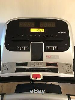 John Lewis Treadmill Variable speed / incline
