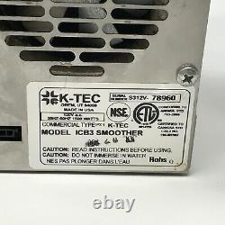 K-TEC Blendtec ICB3 Commercial Motor Only Original Replacement Part OEM 70 Cycle
