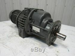 Lenze 1.10Kw 220.460V 50/60Hz 74-13RPM Disco Variable Speed Gear Motor