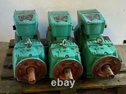 Leroy Somer Variable Speed Motor and Gearbox LS132MT CB3433B5