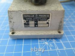 Lovely Watchmakers lathe Motor popular progress motor variable speed control