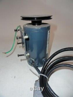 MagneTek Variable Speed 0.38HP DC Motor 3315D-10 22353900 NPL-884-29 AS-IS