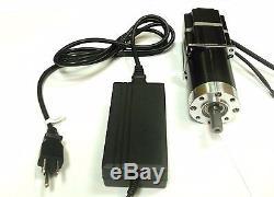 Makermotor 110vac 220vac 10RPM Gearmotor Variable Speed Brushless ECM Gear Motor