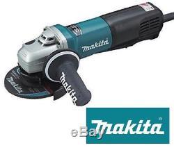 Makita 9565PCV 5 / 125mm Angle Grinder 230V, Variable Speed, 1400W Motor