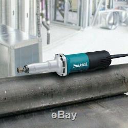 Makita Die-Grinder 1/4 in. 6.6 Amp Motor Lock On Switch Variable Speed Corded