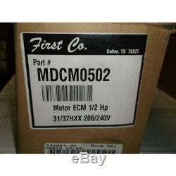 Mcmillan Mdcm0502 1/2hp Ecm Blower Motor, 208-240/60/1 Rpm1600/variable Speed