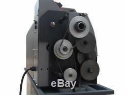 Metal Lathe WM210V-G Brushless Motor Machine Stepless Variable Speed 110-220v