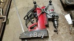 Milwaukee 4231 Electromagnet Magnetic Drill Press 400 Motor variable speed