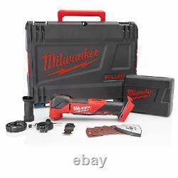 Milwaukee M18FMT-0X M18 18V Cordless Multi-Tool FUEL Brushless Motor, Accessor