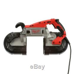Milwaukee Portable Band Saw 11 Amp Motor Lightweight Variable Speed Metal Corded